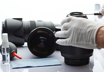 Camera and lens repair service