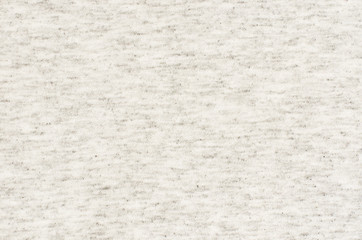 Closeup of gray melange jersey fabric