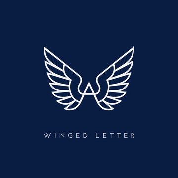 Winged letter