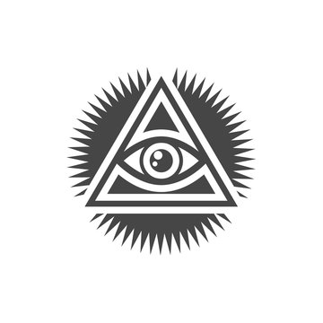 Third eye, All seeing eye - Illustration