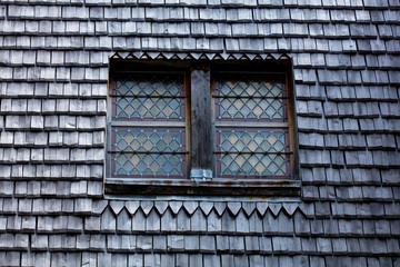 beautiful window on roof