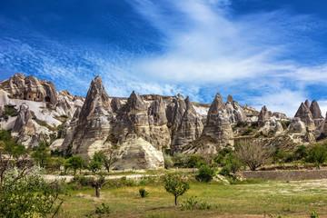 Cappadocia, Anatolia, Turkey. Goreme national park.