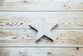 star shaped toy on floor