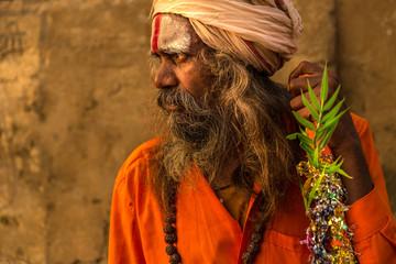Sadhu in Varanasi, India