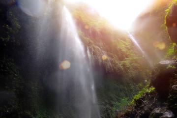 Madakaripura waterfall in Indonesia