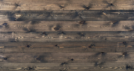 Grunge surface rustic wooden table top view. Wood texture background surface with old natural pattern.
