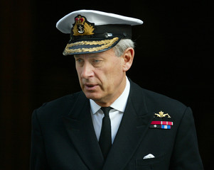 BRITAIN'S CHIEF OF DEFENCE STAFF ADMIRAL BOYCE LEAVES DOWNING STREETFOLLOWING WAR CABINET MEETING IN LONDON.