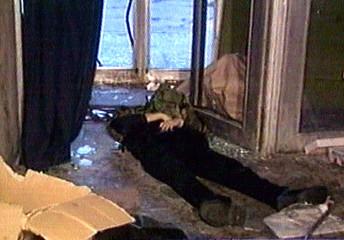 DEAD BODY SEEN INSIDE MOSCOW THEATRE.