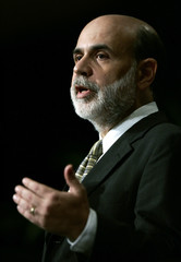 Bernanke speaks to the National Association for Business Economics about the current state of the economy in Washington