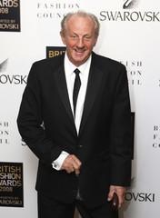Fashion designer Paul Costelloe arrives at the British Fashion Awards in London