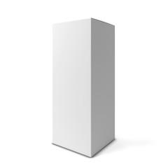 Blank tall box