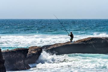 Pâcheur plage maroc 1