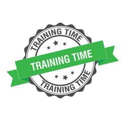 Training time stamp illustration