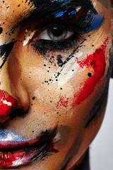 Spooky Clown Halloween creative Make-up