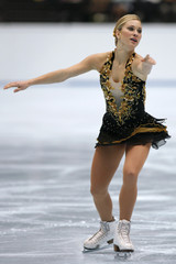 Rochette of Canada performs during her free programme of Figure Skating Japan Open in Saitama, north of Tokyo