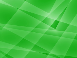 Abstract green fractal geometric background