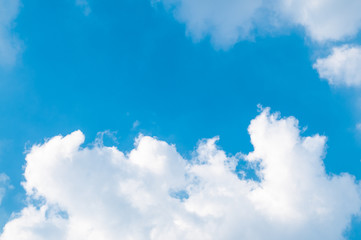 Cloud and sky.background