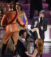 """Jon McLaughlin performs the Oscar nominated song """"So Close"""" during the 80th annual Academy Awards in Hollywood"""