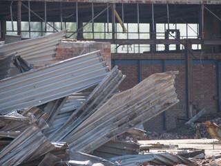 Alte Fabrik wird abgerissen