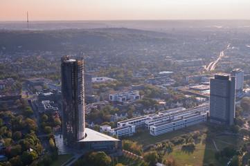 Bonn aus der Vogelperspektive; Nordrhein-Westfalen