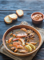 Bowl of Bouillabaisse