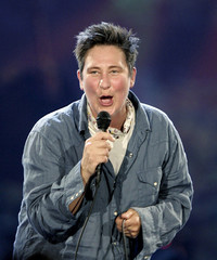 Singer k.d. lang performs during the opening ceremony of the first World Outgames in Montreal