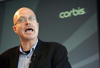 Corbis President and CEO Steve Davis speaks at annual meeting in New York