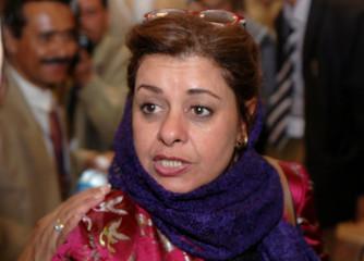Sumaia Ali Rajaa is seen in the Yemeni capital of Sanaa