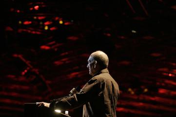 Israeli Prime Minister Ehud Olmert addresses Canadian Jewish fundraisers for Israel in Jerusalem