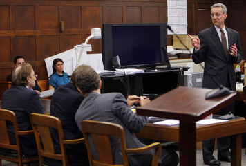 Assistant District Attorney Deakin delivers closing arguments in kidnapping trial of Gerhartsreiter in Suffolk Superior Court in Boston
