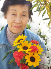 母の82歳の誕生日