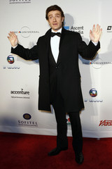 French actor Thierry Fremont arrives for the International Emmy Awards in New York,