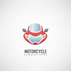 Motorcycle club logotype, Suitable for motor clubs, motor sport, and other. Vector illustration