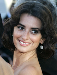 Spanish actress Penelope Cruz arrives for screening of 'Volver' at 59th Cannes Film Festival
