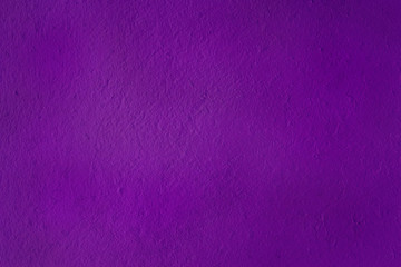 Painted concrete wall purple color abstract background, grunge purple wall.