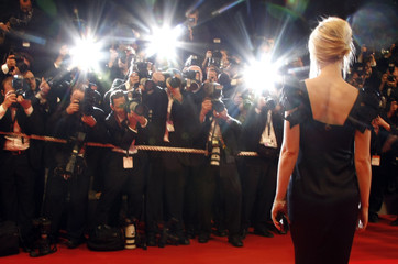 """Cast member Paltrow arrives for the screening of the film """"Two Lovers"""" in Cannes"""