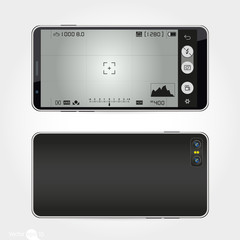 mobile camera interface