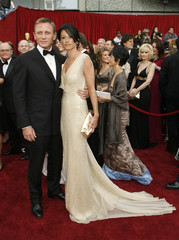 Daniel Craig and his girlfriend Satsuki Mitchell arrive at the 79th Annual Academy Awards in Hollywood