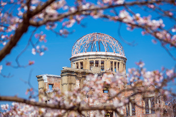 Hiroshima Japan. UNESCO World Heritage Site