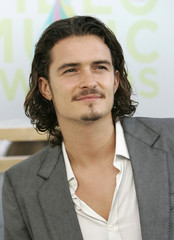 Orlando Bloom at arrivals for the MTV Video Music Awards in Miami.