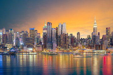 Fototapete - New York City skyline