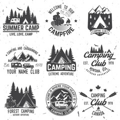 Camping extreme adventure . Vector illustration.