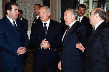 PRESIDENTS OF CENTRAL ASIAN UNION MEET IN TASHKENT.