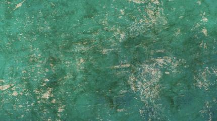 Grunge old vintage teal shabby texture
