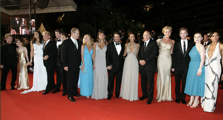 Cast of 'X-Men: The Last Stand on the red carpet at 59th Cannes Film Festival
