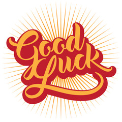 Good luck hand lettering with burst. EPS 10 vector.