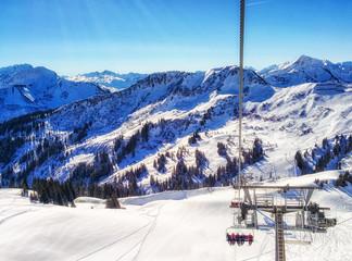 Winter wonder land in Austria