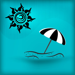 The icon of summer vacation.