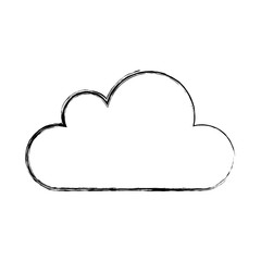 cloud climate isolated icon vector illustration design