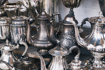 Classic silver teapots on the market